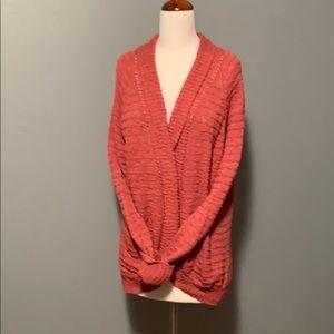 Roxy brand open weave sweater XL